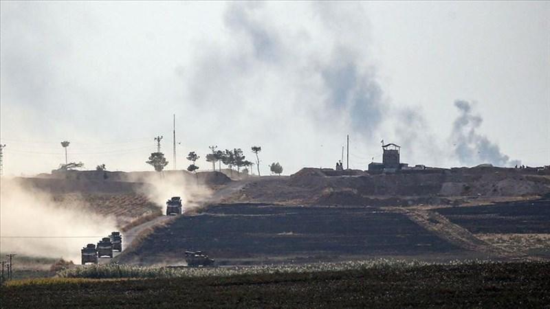 土耳其9日發起「和平之泉行動」,跨境進入敘利亞掃蕩庫德族民兵。(安納杜魯新聞社提供)
