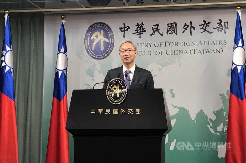 外交部北美司司長姚金祥15日表示,關於是否恢復駐關島辦事處,目前還沒有具體決定。中央社記者侯姿瑩攝 108年10月15日