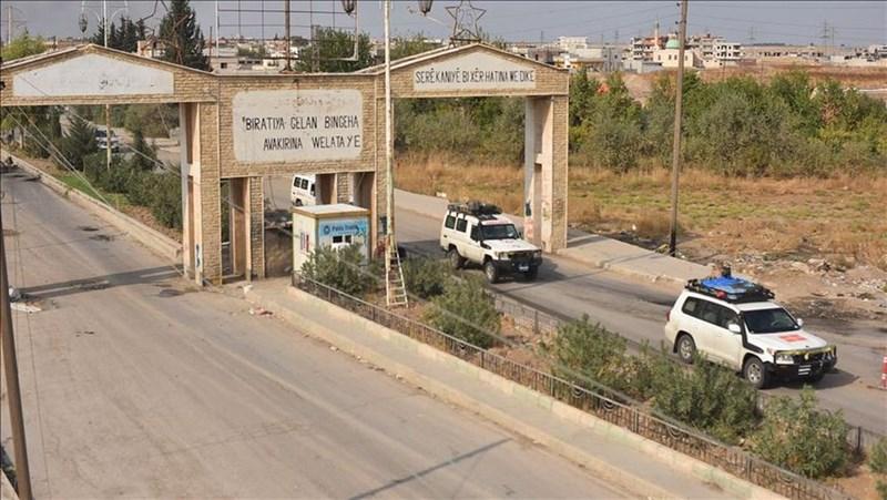 庫德族為首的軍事同盟「敘利亞民主力量」20日指出,已從敘利亞東北部邊境城鎮撤出所有戰鬥人員。(安納杜魯新聞社提供)