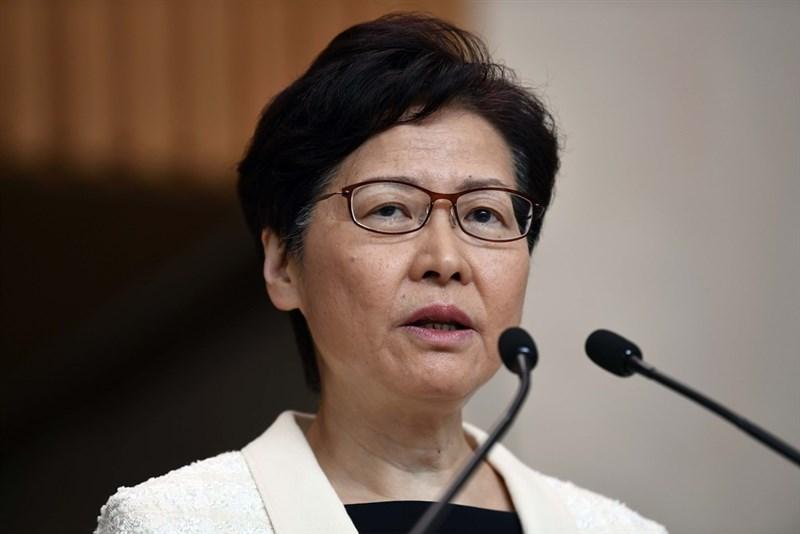 英國金融時報報導北京中央將會撤換林鄭月娥(圖)。對此,林鄭月娥表示不會評論揣測性報導。(檔案照片/中新社提供)