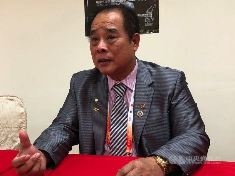 中華民國跆拳道協會26日召開理事會,通過罷免理事長吳兩平,也是首名奧亞運特定體育團體理事長被罷免成功。(中央社檔案照片)