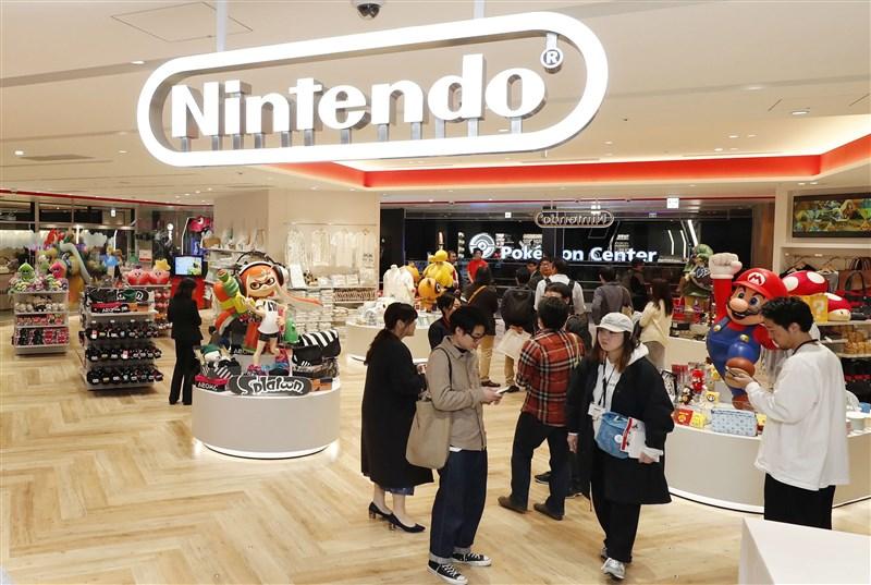 任天堂22日將在東京開設日本第一家直營店,料將成為遊戲迷的新聖地。(共同社提供)