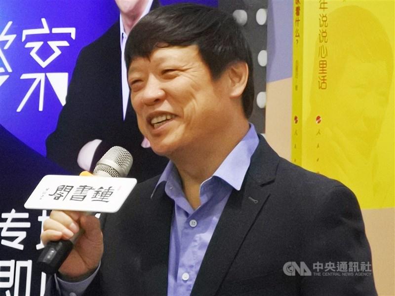 中國「環球時報」總編輯胡錫進28日推文表示,中國正考慮將美國起草「香港人權與民主法案」的人士列入禁止入境名單。(中央社檔案照片)