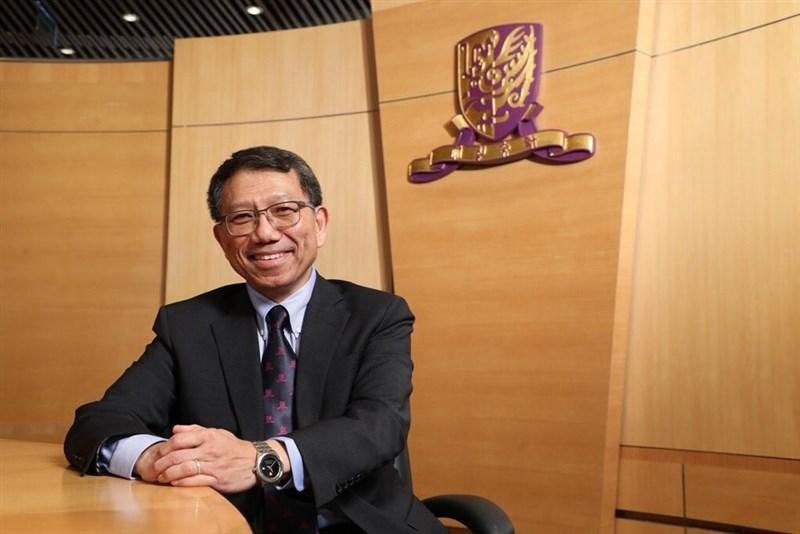 英國泰晤士報高等教育特刊選出2019年度全球高等教育風雲人物,其中香港中文大學校長段崇智因調停反送中衝突獲選,成為亞洲唯一上榜者。(圖取自twitter.com/CUHKofficial)
