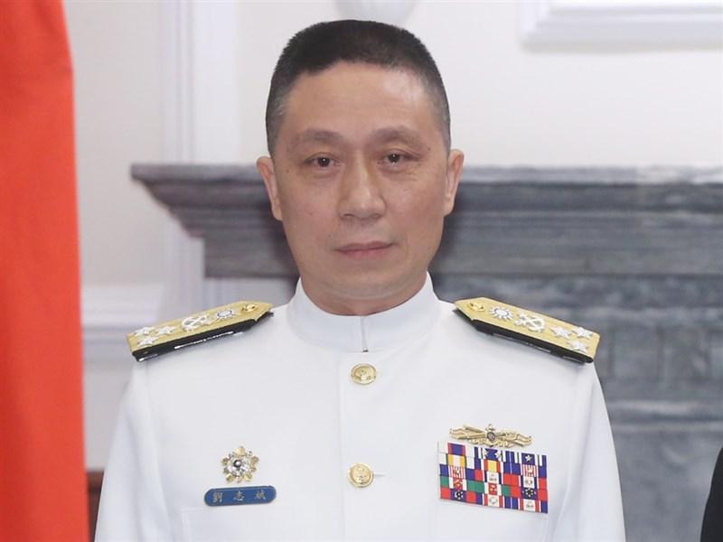 國防部2日晚間表示,將由副參謀總長兼執行官劉志斌上將暫時代理參謀總長。(中央社檔案照片)