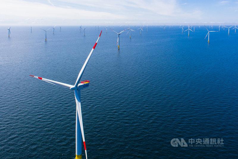 再生能源2019年可滿足德國全國用電量的42.6%。圖為德國能源供應企業安能(EnBW)位於波羅的海的離岸風場Baltic 2。(EnBW/Jörn Tirgrath提供)中央社記者林育立柏林傳真  108年1月8日