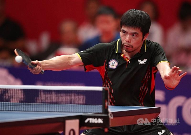 台灣桌球名將莊智淵2019年9月宣布退出國家隊,如今出現轉機。(中央社檔案照片)
