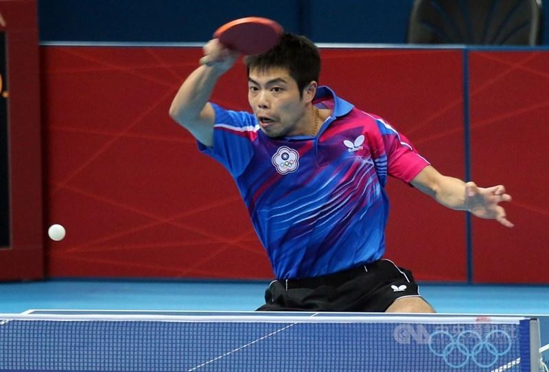 體育署9日證實,莊智淵(圖)確定重返國家隊,17日將隨隊前往葡萄牙移訓,並參加世界桌球團體奧運資格賽。(中央社檔案照片)