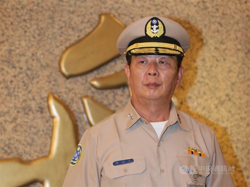 國防部15日表示,奉總統蔡英文核定,參謀總長由海軍司令黃曙光(圖)上將接任。(中央社檔案照片)