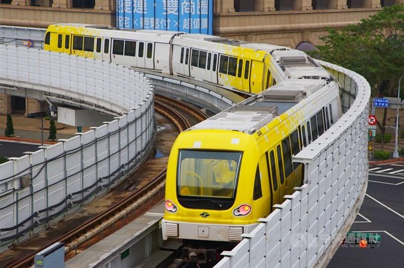 台北市捷運局表示,環狀線第一階段已奉交通部核准營運,雙北決定於1月31日上午10時,在綠建築車站-十四張站舉行通車典禮。(中央社檔案照片)