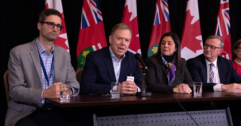 加拿大27日宣布,確認2019新型冠狀病毒首例,患者為50多歲男子,21日與妻子搭機自武漢經廣州、22日飛抵多倫多。(圖取自新寧醫院科學中心網頁sunnybrook.ca)