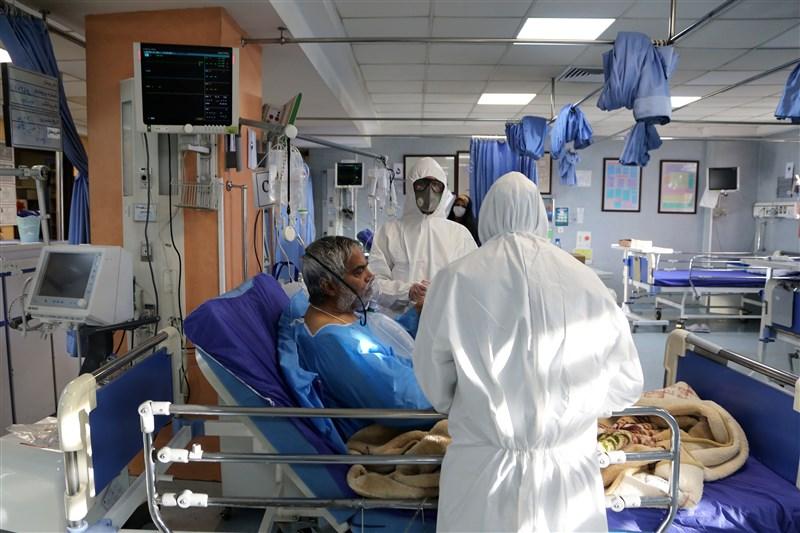 伊朗3日境內又有11名武漢肺炎患者不治,使得全國死亡人數增至77人,累計確診數則增加835例,攀升至2336例。圖為德黑蘭一間收治武漢肺炎患者的醫院。(安納杜魯新聞社提供)