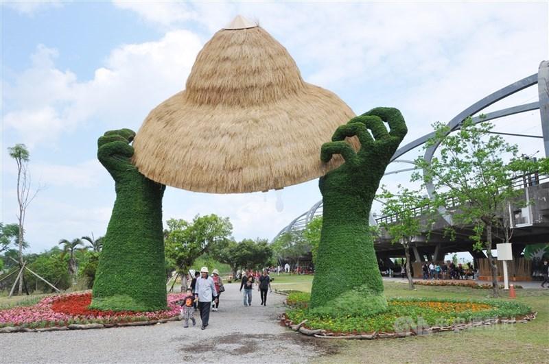 宜蘭縣長林姿妙宣布,28日開幕的宜蘭綠色博覽會21年來首度停辦。圖為2018年綠博一景。(中央社檔案照片)