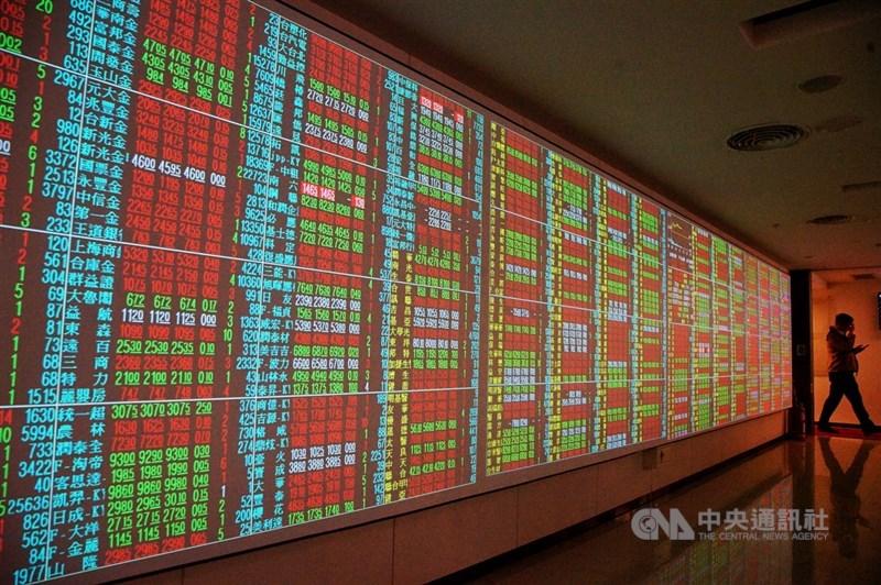 台股11日開高走高,一度大漲101點、衝上14324.42點。(中央社檔案照片)