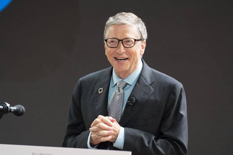 電腦科技公司微軟13日宣布,共同創辦人比爾蓋茲已退出董事會,因為他想把更多時間貢獻在慈善事業。(圖取自facebook.com/BillGates)