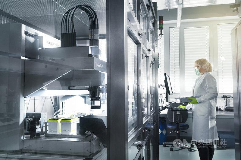 德國生技公司BioNTech表示,研發武漢肺炎疫苗獲得快速進展,預計4月底展開臨床實驗。(BioNTech提供)中央社記者林育立柏林傳真  109年3月17日