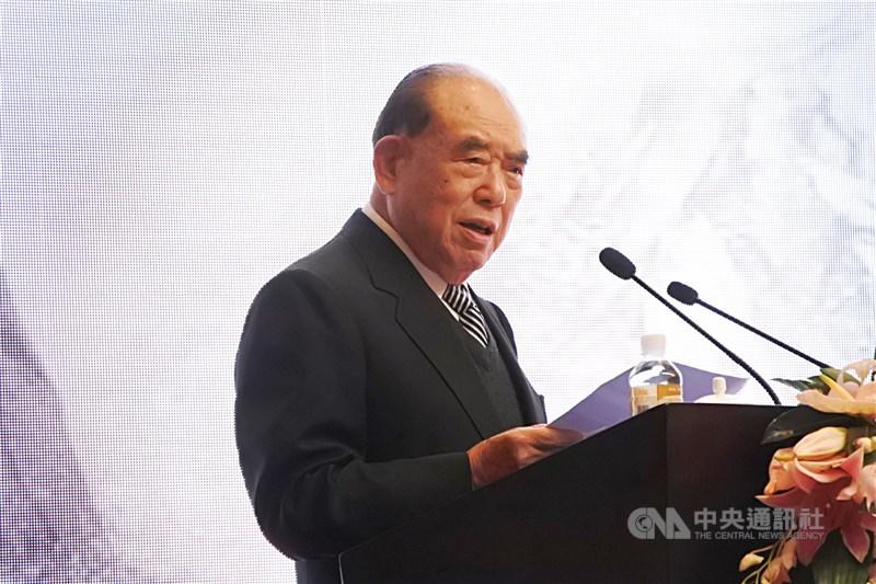 前行政院長郝柏村30日下午在三軍總醫院去世,享嵩壽101歲。(中央社檔案照片)