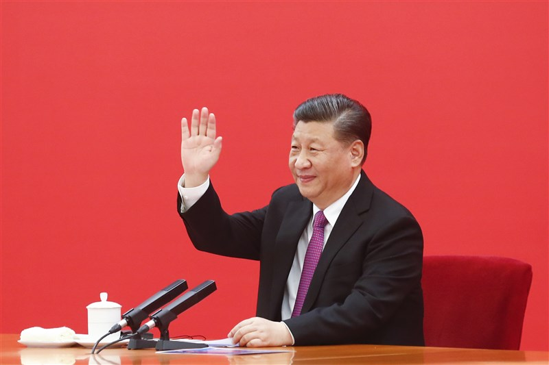 中共總書記習近平5月31日提出,必須加強頂層設計和研究佈局,營造有利外部輿論環境,並提升中國在重大問題的對外發聲能力。(中新社)