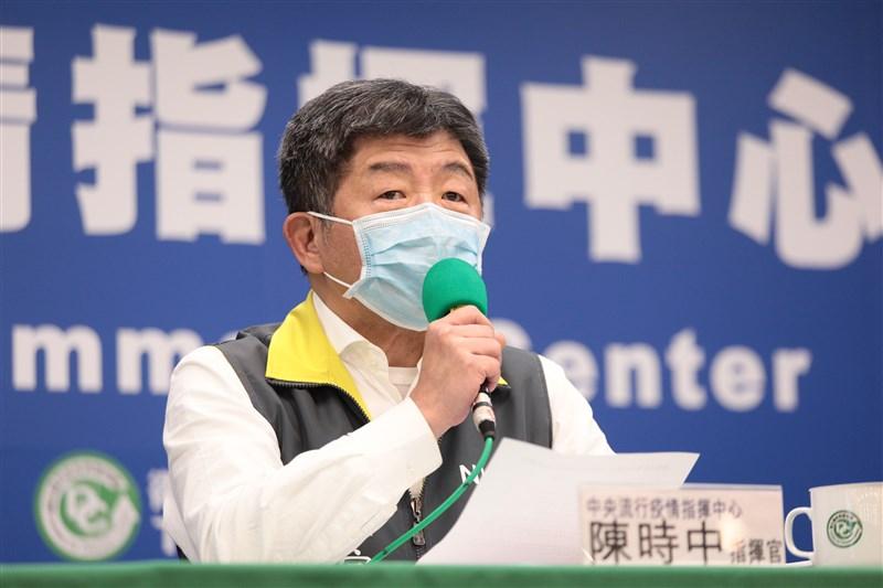 中央流行疫情中心指揮官陳時中8日在記者會中表示,武漢是疫情發源地,也是第一個封城的城市,決策者自然會對疫情發源地抱持高度警戒。(中央流行疫情指揮中心提供)