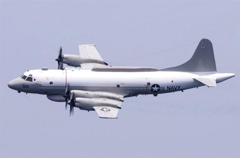 美軍一架EP-3E電偵機(圖)21日現蹤台灣南部海域,是美軍機4月以來,第11度出現台灣周邊。(圖取自維基共享資源,版權屬公眾領域)