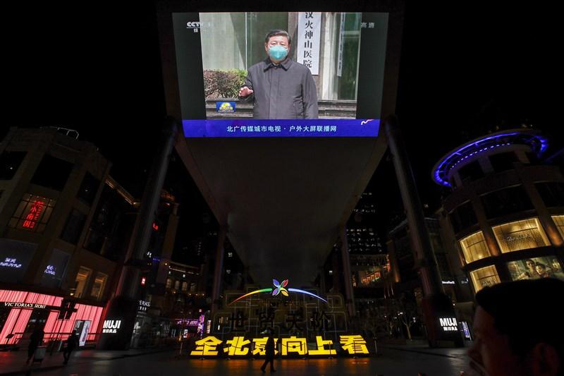 中國國家主席習近平是在官員得知疫情嚴重性的第7天,即是1月20日向大眾發出警告,根據美聯社獲得的消息顯示,那時國內已有超過3000人染疫。(美聯社)
