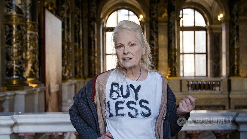 2019冠狀病毒疾病(COVID-19,武漢肺炎)疫情全球蔓延,造成博物館參觀人數降低,近期想映電影院線上影音平台推出「世界八大博物館巡禮」影集,其中邀龐克時尚教母薇薇安魏斯伍德(Vivienne Westwood)(圖)導覽維也納藝術史博物館。(佳映娛樂提供)中央社記者鄭景雯傳真 109年4月22日