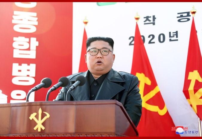 北韓領導人金正恩(圖)近況引發各方關注,南韓媒體認為,北韓官媒不闢謠病危傳聞,肯定有蹊蹺。(圖取自北韓中央通信社網頁kcna.kp)