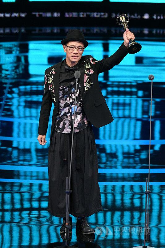 演員吳朋奉曾以公視人生劇展「第一響槍」榮獲第54屆電視金鐘獎迷你劇集(電視電影)男主角獎,並致力推廣台語文化,關心各種社會議題。(文化部提供)中央社記者趙靜瑜傳真 109年5月26日
