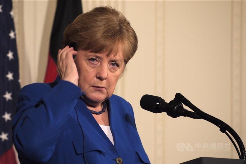 德國總理梅克爾27日仍強調,維持與中國的合作對歐盟而言具有「重大戰略利益」。(中央社檔案照片)
