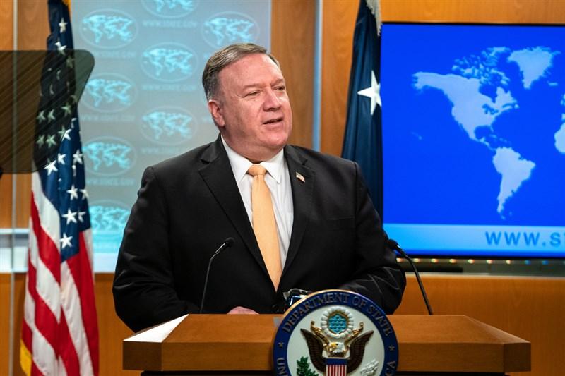 福斯新聞8日宣布,已聘請美國前國務卿蓬佩奧擔任固定的評論員。(圖取自twitter.com/SecPompeo)