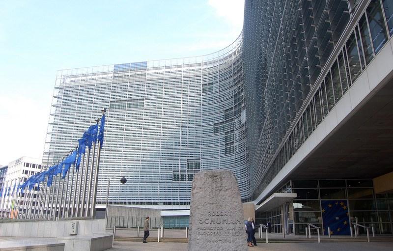 歐洲聯盟執委會11日宣布,建議申根區國家在6月15日取消內部邊境管制,自7月1日起逐步對外開放邊境。圖為歐盟總部。(中央社檔案照片)