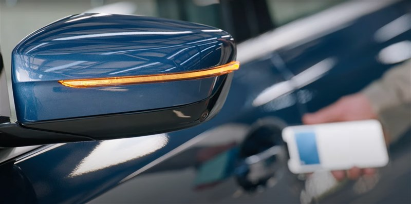 蘋果公司22日在全球開發人員大會宣布CarKey新系統,也就是使用蘋果手機無線解鎖汽車的方法。(圖取自Apple YouTube頻道網頁youtube.com)