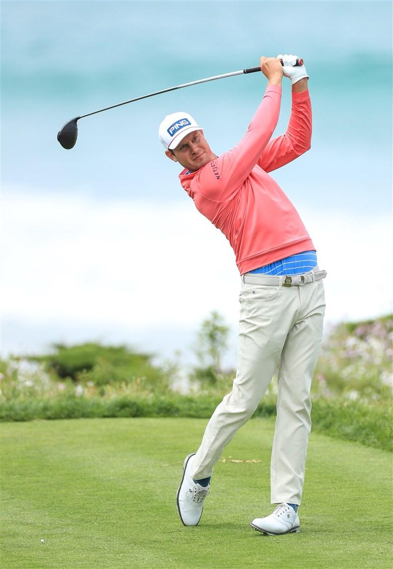美國職業高爾夫巡迴賽自12日復賽後不斷傳出球員確診消息,30歲的美國選手英格利許(圖)檢驗結果呈陽性,成為第5名確診球員。(圖取自twitter.com/Harris_English)