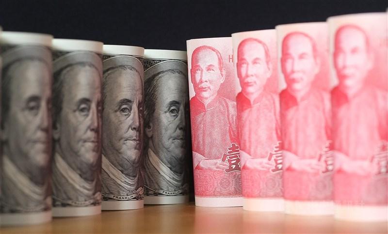 台北外匯市場新台幣兌美元1日中午暫收29.470元,升1.9角,成交金額3.65億美元。(中央社檔案照片)