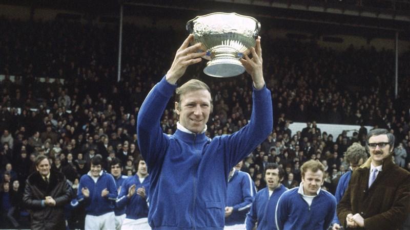 英格蘭1966年世界盃足球賽冠軍隊成員查爾頓10日辭世,享壽85歲。(圖取自twitter.com/LUFC)