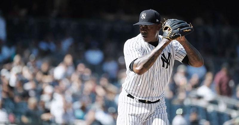 大聯盟紐約洋基隊總教練布恩11日公布,陣中守護神柴普曼確診武漢肺炎。(圖取自facebook.com/Yankees)