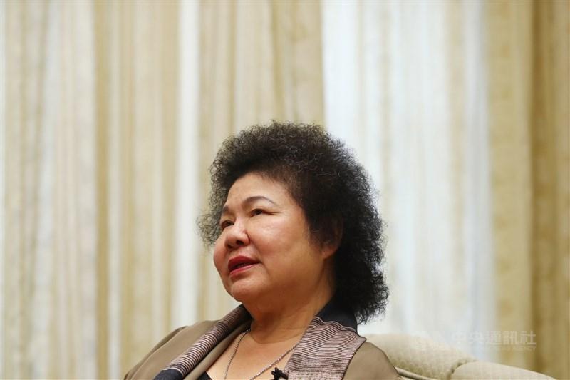 前總統府秘書長陳菊17日獲立法院同意出任監察院長,她表示,未來監察院會更超然、更公正,國家人權委員會也將成為國家的「良心」。(中央社檔案照片)