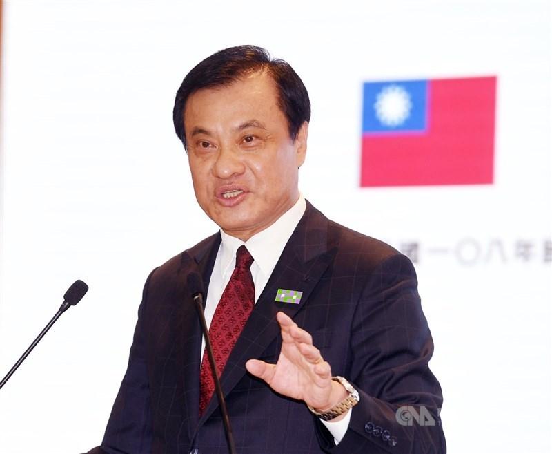 總統府20日說,國民黨惡意指控總統府秘書長蘇嘉全(圖)於2017年赴印尼、私下會晤高層圖個人私利,完全是子虛烏有,「將提出告訴,以捍衛清白」。(中央社檔案照片)