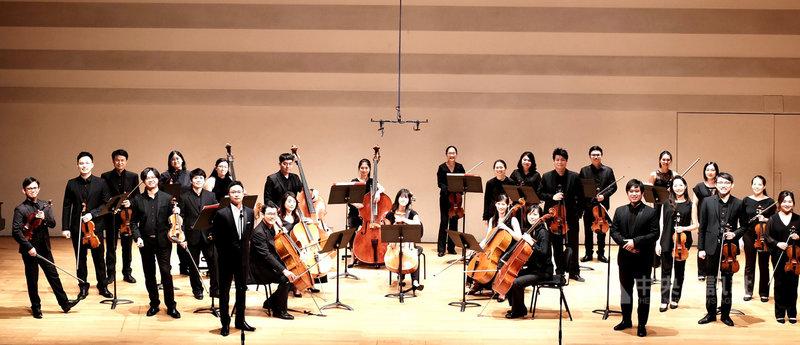 巴雀弦樂團8月底將展開年度巡演音樂會「東方音緣」,演出曲目包括蕭邦、巴爾托克、帕德瑞夫斯基及台灣作曲家林佳瑩的樂作。(巴雀弦樂團提供)中央社記者趙靜瑜傳真 109年7月25日