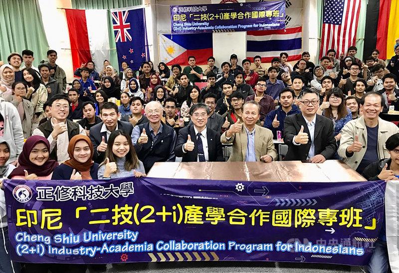 台灣與印尼合辦的「印尼2+i技職產學合作專班」將邁入第3屆,推動這項計畫的印尼雅加達理工學院教授哈里(Hari Purwanto)預估,2020年招生數及開辦學科都將成長。攝於2019年。(Hari Purwanto提供)中央社記者石秀娟雅加達傳真 109年8月5日