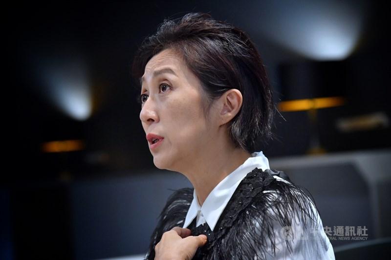今年金曲獎受疫情衝擊延至10月3日舉辦,台北流行音樂中心董事長黃韻玲表示,金曲獎是北流開幕後的首場大型活動,坦言舉辦有壓力。中央社記者王飛華攝 109年8月17日