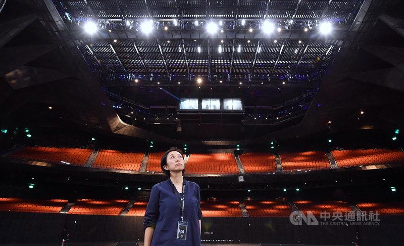 台北流行音樂中心將於9月開幕,董事長黃韻玲表示,北流將串起流行音樂的過去、現在與未來,朝培育新一代音樂人方向努力。中央社記者王飛華攝 109年8月17日