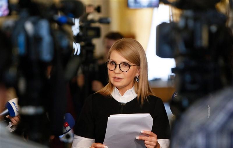 烏克蘭前總理尤莉雅.提摩申科2019冠狀病毒疾病檢測呈陽性反應,不僅發燒且病情嚴重。(圖取自facebook.com/YuliaTymoshenko)