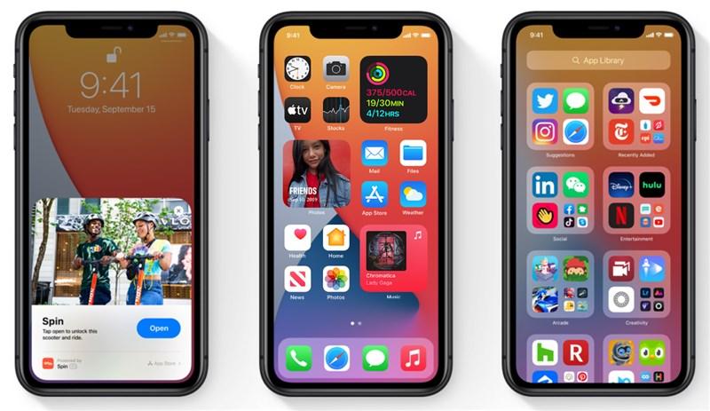 蘋果公司24日釋出iOS 14.0.1作業系統更新,是iOS 14於9月17日發布以來首次更新,主要修正iPhone相機預覽、Wi-Fi網路無法連接、郵件、小工具顯示等問題。(圖取自蘋果網頁apple.com)
