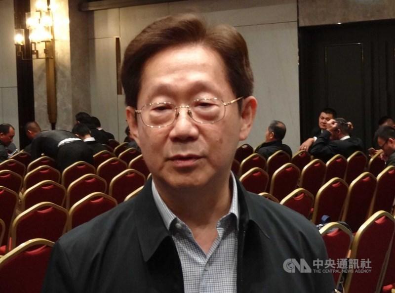 大同公司2日舉行董事會,市場派將推舉台苯董事長林文淵(前)擔任大同新董事長。(中央社檔案照片)