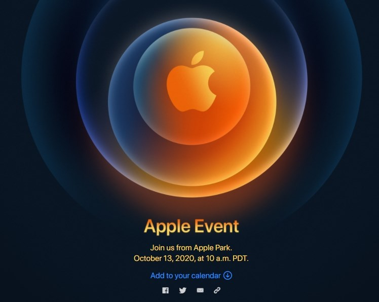 蘋果公司將於台灣時間14日凌晨1時舉行特別活動,外界預期將發表5G版iPhone新機,也可能推出平價智慧音箱HomePod mini。(圖取自蘋果官方網頁apple.com)
