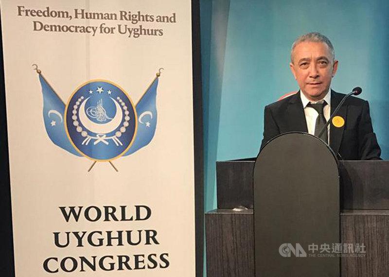 中國當選新一屆聯合國人權理事會成員,世界維吾爾代表大會發言人迪里夏提(圖)批評這無異於「盜匪變警察」。(世界維吾爾代表大會提供)中央社記者何宏儒安卡拉傳真 109年10月14日
