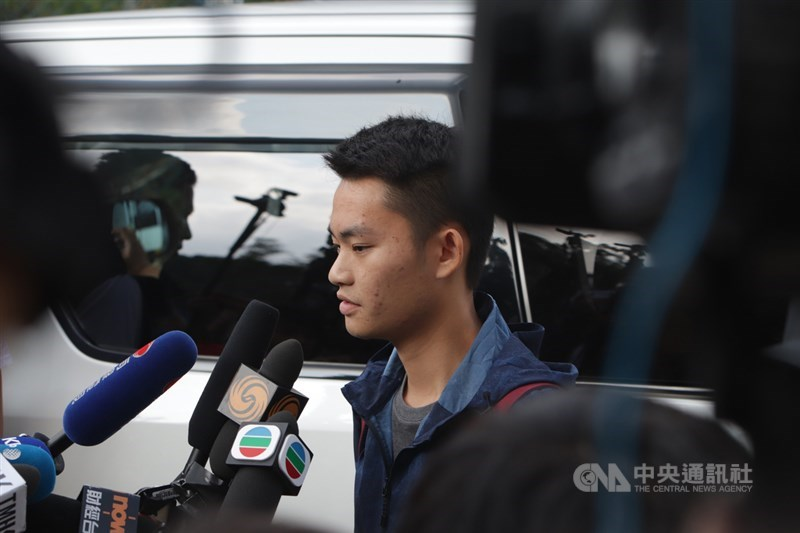 陳同佳去年10月23日出獄,迄今已滿一年。香港聖公會教省秘書長管浩鳴23日表示,由於陳同佳暫時無法取得赴台簽證,未能到台灣投案。(中央社檔案照片)