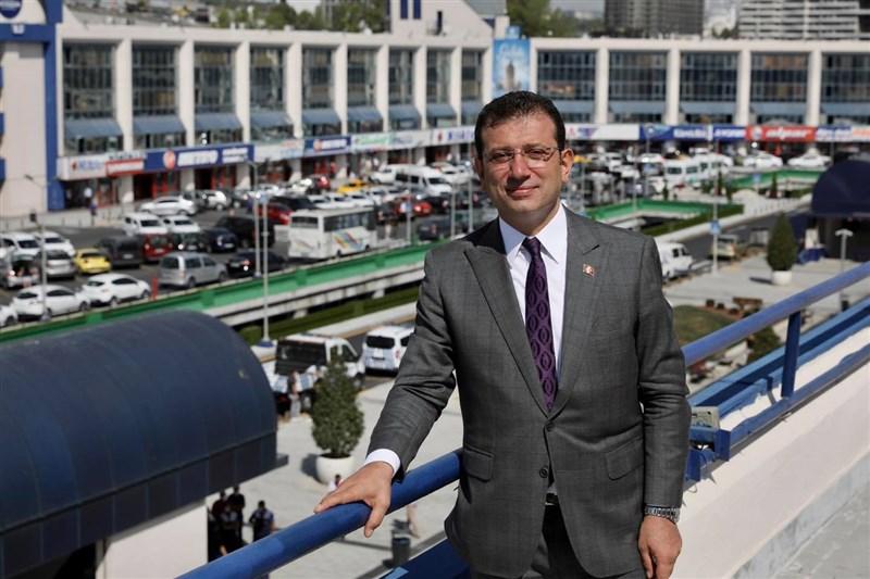土耳其第一大城伊斯坦堡巿長伊瑪莫魯(圖)確診武漢肺炎,他的發言人稱,在醫院接受治療的伊瑪莫魯「健康狀況良好」。(圖取自facebook.com/imamogluekrem)