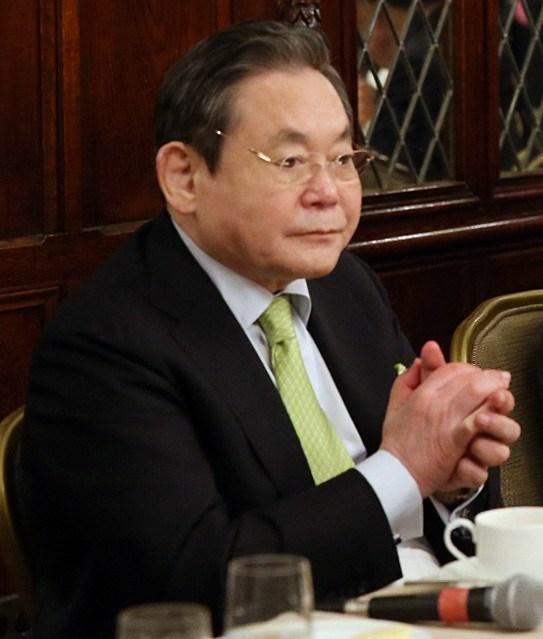 三星電子會長李健熙25日病逝,享壽78歲。(圖取自維基共享資源;作者:Republic of Korea,CC BY-SA 2.0)